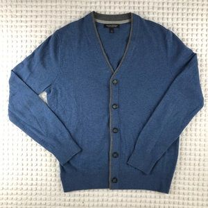 Blue Banana Republic Button Up Cardigan